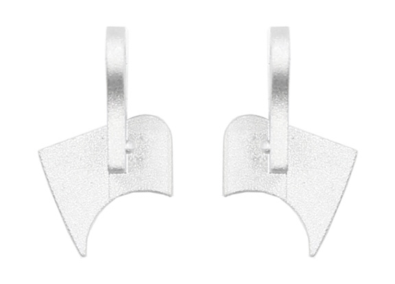 Display End Caps Kit (Left and Right) MacBook Pro 13-inch Retina (Late 2012, Early 2013, Late 2013, Mid 2014, Early 2015), MacBook Pro 15-inch Retina (Mid 2015)