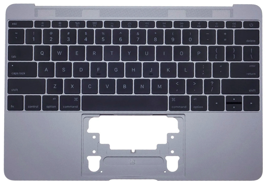 Top Case With Keyboard Space Gray