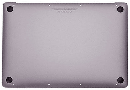 Bottom Case w/ Battery, Space Gray MacBook 12-inch Retina (Early 2015)