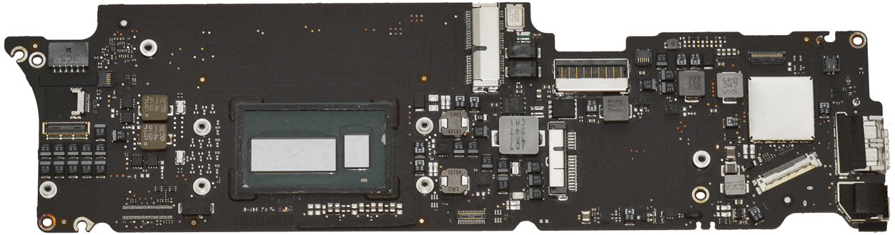 Logic Board 1.6GHz i5 4GB for MacBook Air 11-inch, Early 2015 Model: A1465 Order: MJVM2LL/A, BTO/CTO Identifier: MacBookAir7,1 Release date: 9-Mar-15