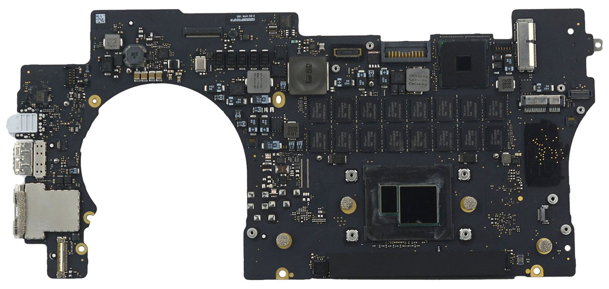 Logic Board 661-02524, 661-02525, 661-02526, 661-02527, 661-02528 for MacBook Pro Retina 15-inch Mid 2015