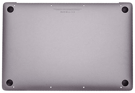 Bottom Case w/ Battery, Space Gray MacBook 12-inch Retina (Early 2016, Mid 2017)