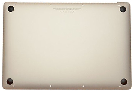 Bottom Case w/ Battery, Gold MacBook 12-inch Retina (Early 2016, Mid 2017)