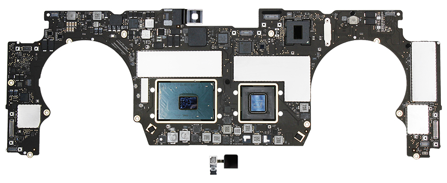 Logic Board i7 2.6GHz 16GB 512GB Radeon Pro 450 MacBook Pro 15-inch (Late 2016)