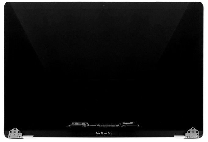 Display Assembly, Space Gray for MacBook Pro 15-inch, 2017 Model: A1707 Order: MPTR2LL/A, MPTT2LL/A, BTO/CTO Identifier: MacBookPro14,3 Release date: 5-Jun-17