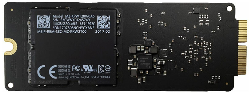 Solid State Drive SSD SSPOLARIS PCIe 661-07309, 661-07312, 661-07313, 661-07588, 661-07589, 661-07320 for iMac Retina 4K 21.5-inch 2019
