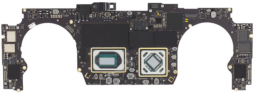 Logic Board, i9, 2.4GHz, 64GB, 8TB, 5500M 4GB 661-14186