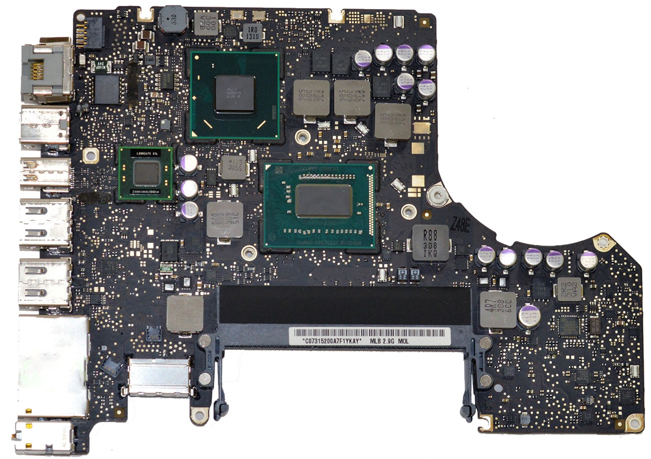 Logic Board 661-6588, 661-6589 for MacBook Pro 13-inch Mid 2012