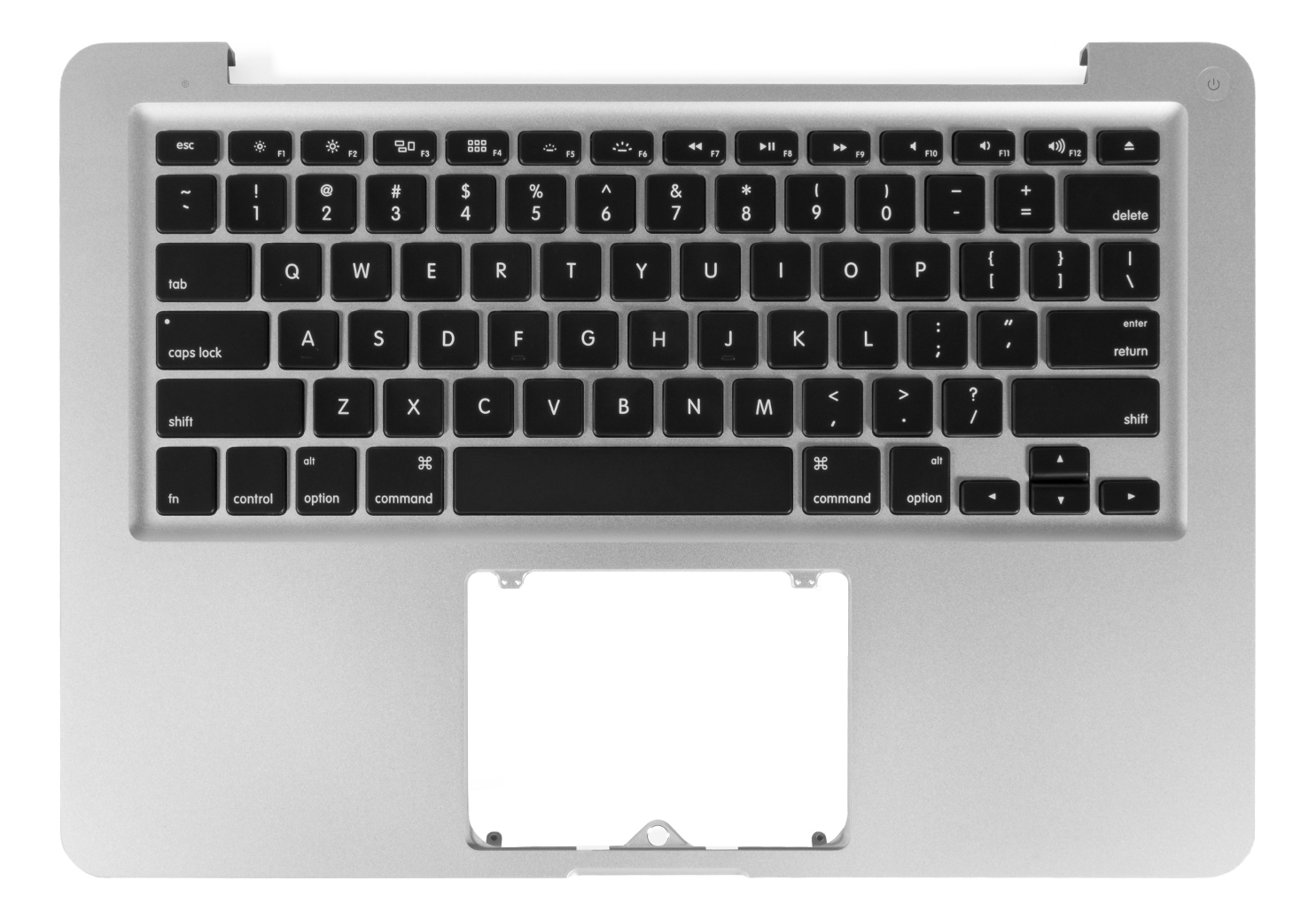 Top Case w/ Keyboard NO Trackpad 661-6595 for MacBook Pro 13-inch Mid 2012