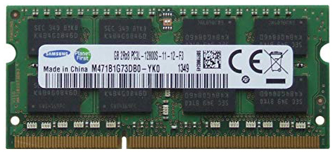 Memory SDRAM DDR3 1600MHz 661-6637, 661-6636 for MacBook Pro 13-inch Mid 2012