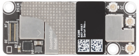 Airport/Bluetooth Wireless Card for Mac mini Late 2012 Server Model: A1347 Order: MD389LL/A, BTO/CTO Identifier: Macmini6,2 Release date: 23-Oct-12