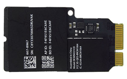 Wireless (Airport/Bluetooth) Card iMac 21.5-inch (Late 2012, Early 2013), iMac 27-inch (Late 2012)