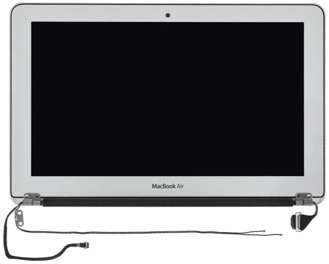 Display/LCD Assembly, Complete for MacBook Air 11-inch, Early 2015 Model: A1465 Order: MJVM2LL/A, BTO/CTO Identifier: MacBookAir7,1 Release date: 9-Mar-15