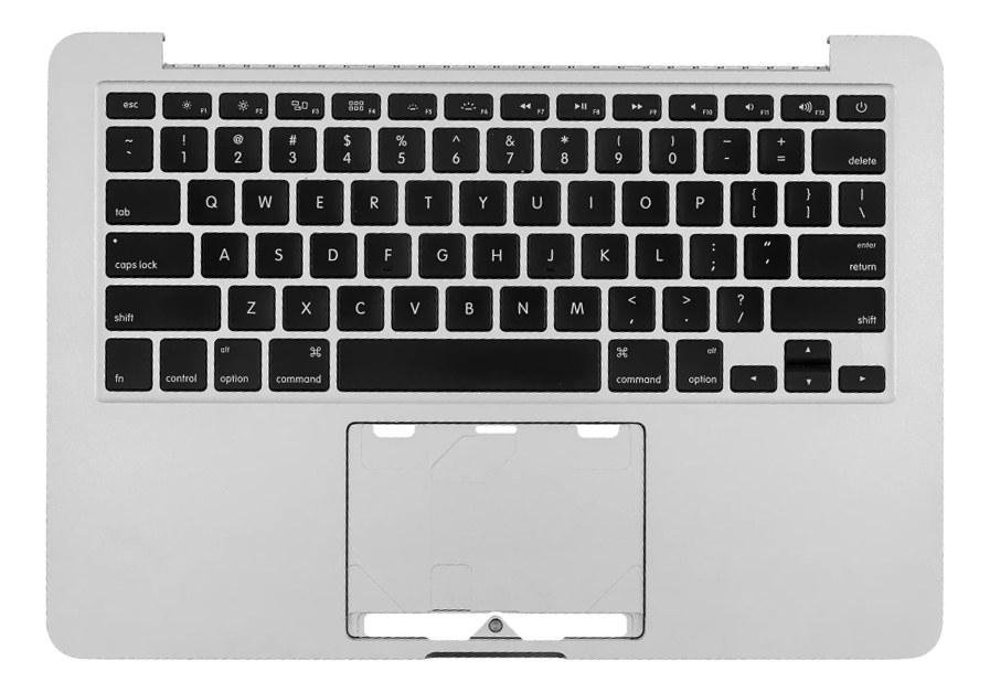 Top Case w/ Keyboard No Battery No Trackpad 661-8154-M