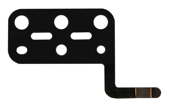 Trackpad Flexure, Left MacBook Air 11-inch (Mid 2012, Mid 2013, Early 2014, Early 2015), MacBook Air 13-inch (Mid 2012, Mid 2013, Early 2014, Early 2015, Mid 2017)