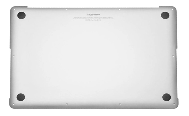 Bottom Case for MacBook Pro 13-inch, Mid 2012 Model: A1278 Order: MD101LL/A, MD102LL/A Identifier: MacBookPro9,2 Release date: 11-Jun-12