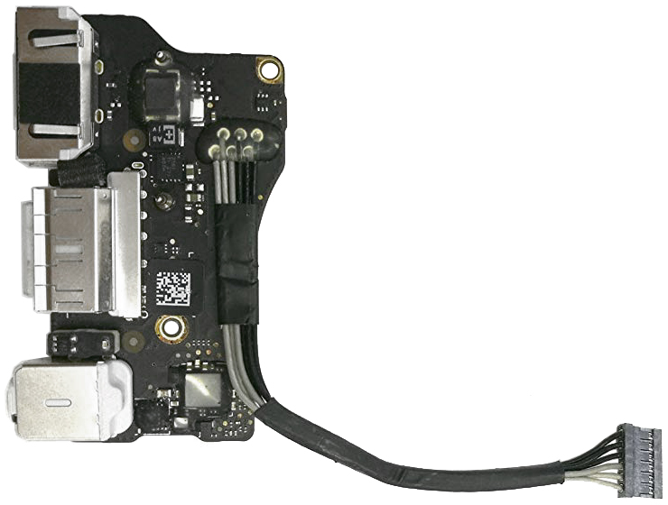 I/O Magsafe 2 Audio USB Board Assembly 923-0125 for MacBook Air 13-inch Mid 2012