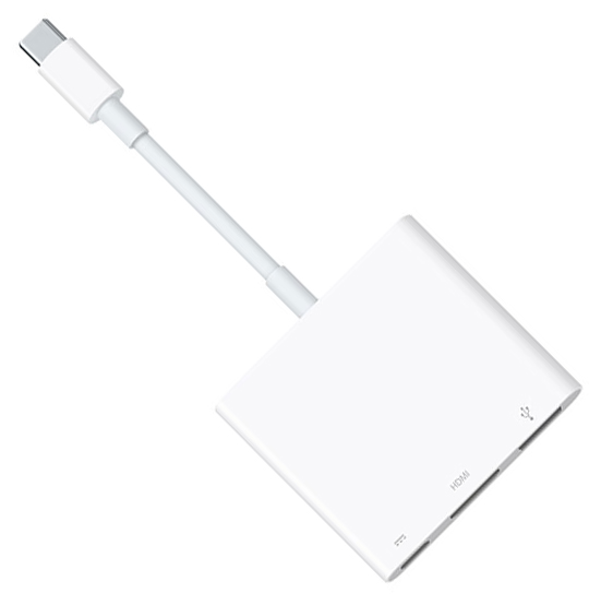 Apple Adapter, USB-C Digital AV Multiport (HDMI) 923-02332
