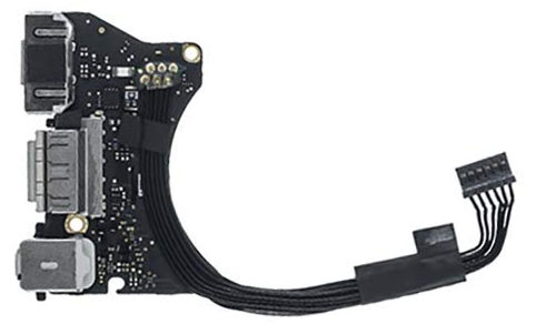 I/O (Magsafe 2, USB, Audio) Board Assembly 923-0430 for MacBook Air 11-inch Early 2014