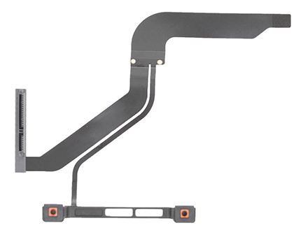 Hard Drive Front Bracket w/ IR-Sleep Cable for MacBook Pro 13-inch, Mid 2012 Model: A1278 Order: MD101LL/A, MD102LL/A Identifier: MacBookPro9,2 Release date: 11-Jun-12